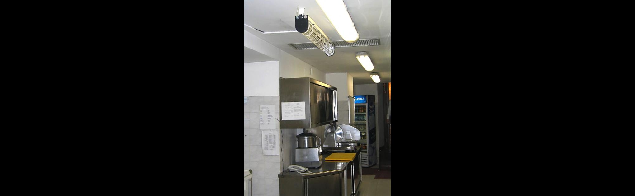 UV-DIRECT на кухне ресторана