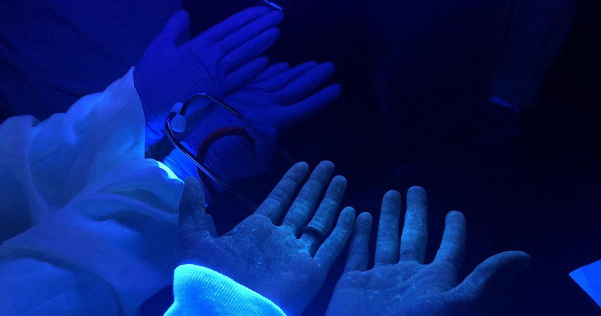 Desinfitseerimine UV-seadmega