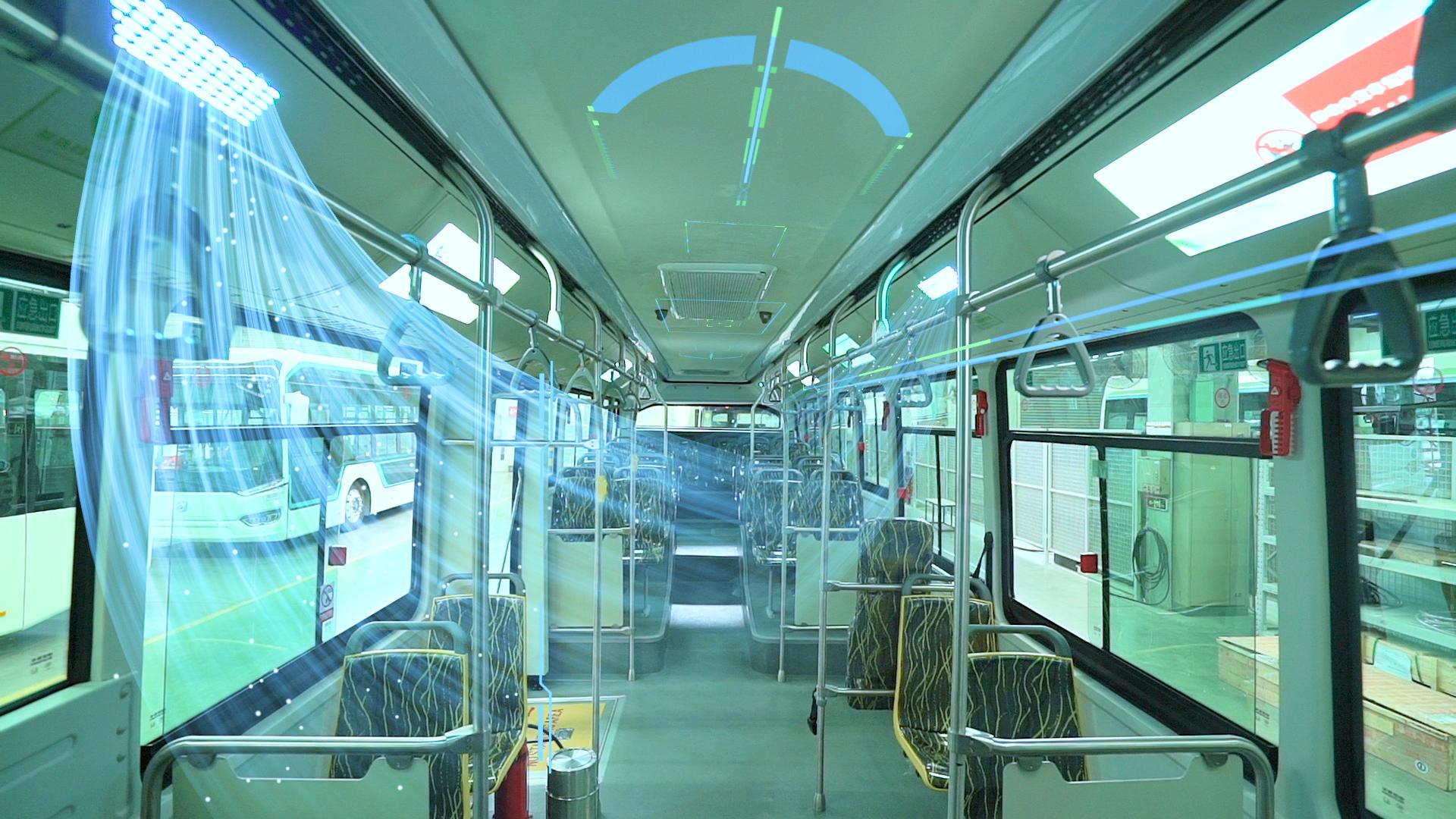 Ультрафиолетовые очистители воздуха в транспорте