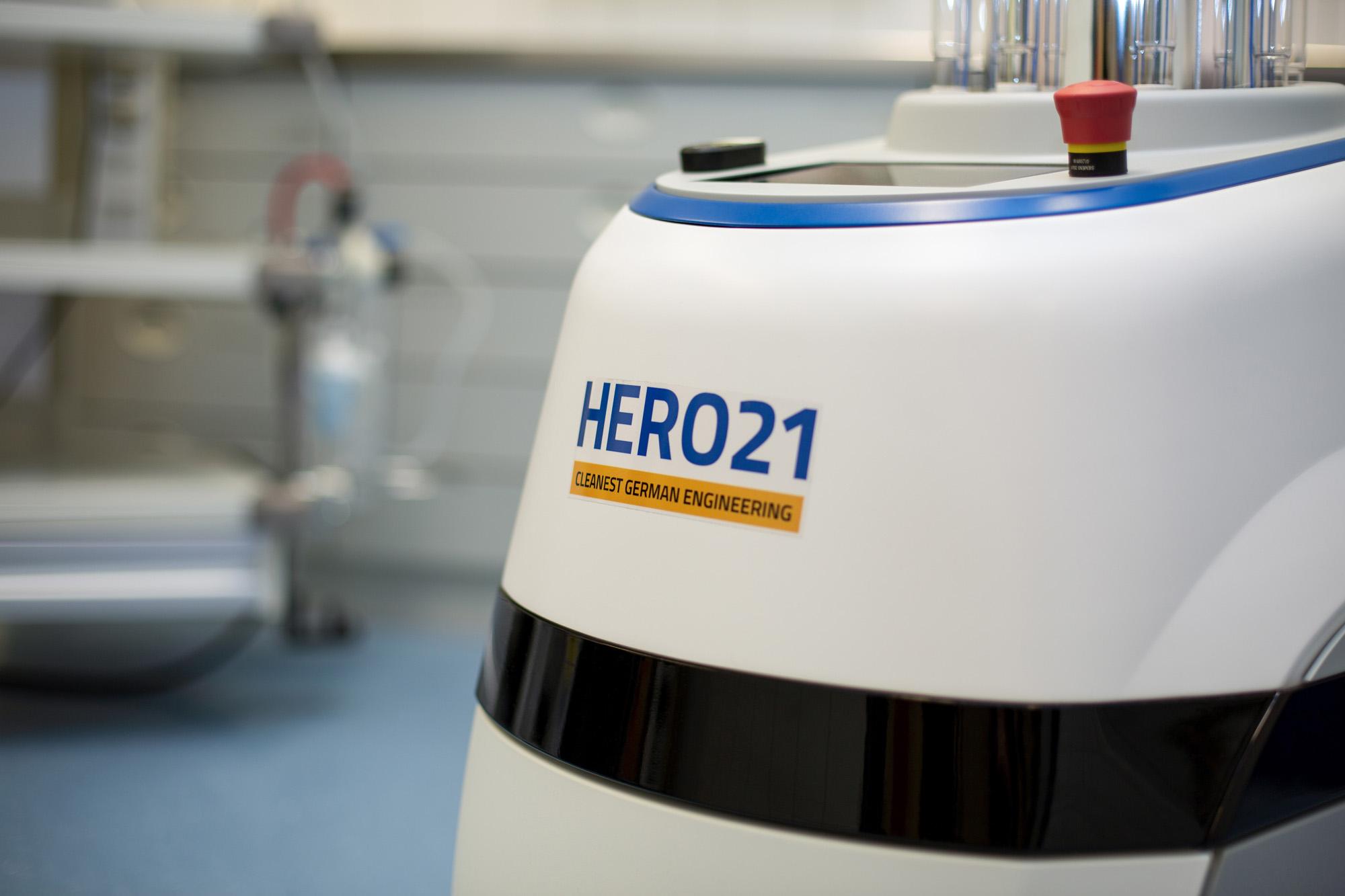 Здоровье – HERO21 – UVC Робот