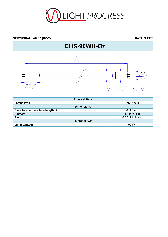 LIGHT PROGRESS CHS-90WH