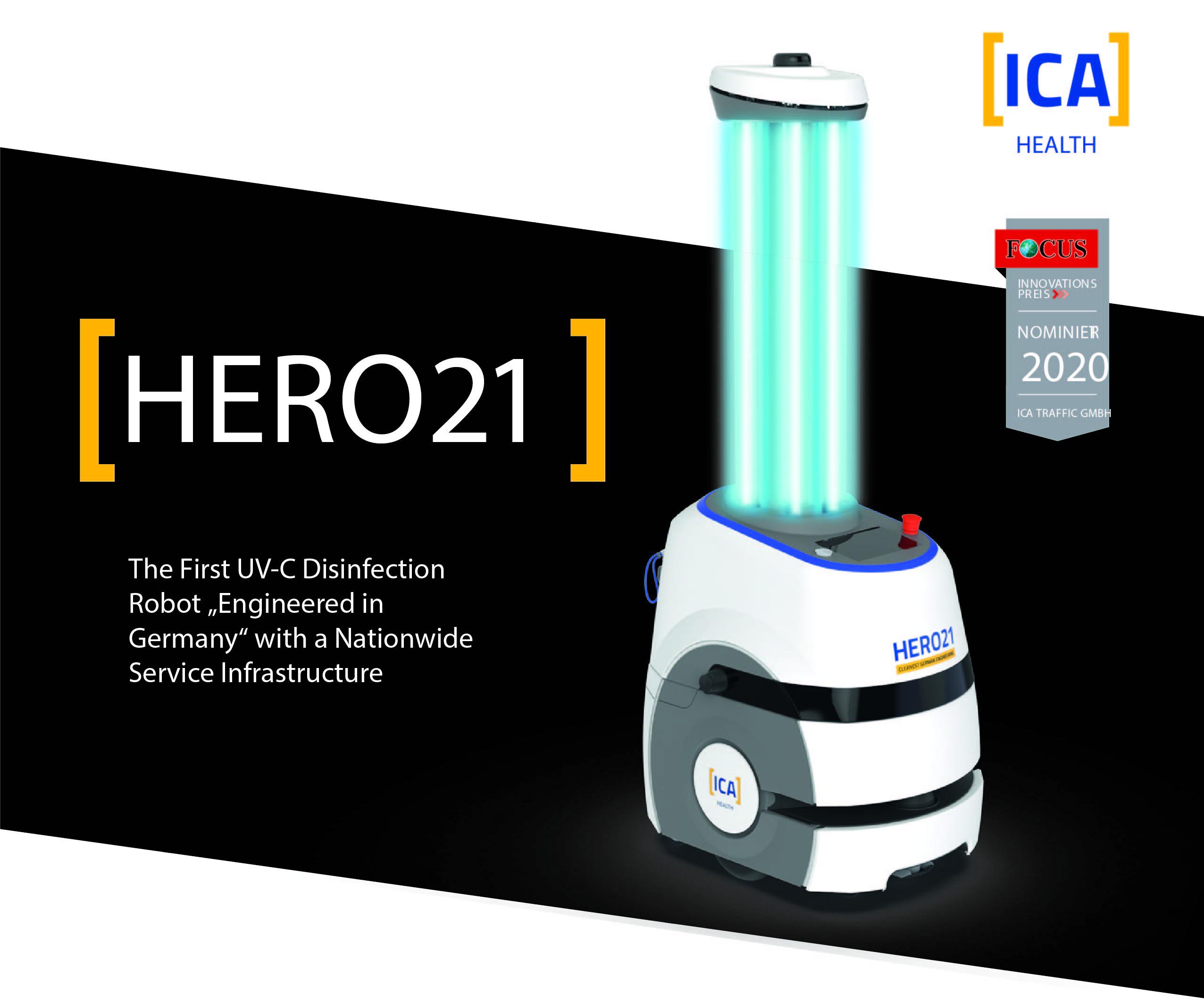 UVC Робот Hero 21